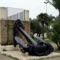ITALIA Monumento a los Marinos, Brindisi, Бриндизи