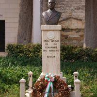 Monumento  per  il  Comandante  Enzo Grossi, Корато