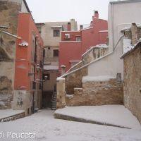 Piazzetta   con neve, Корато