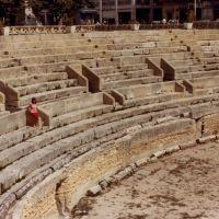 Anfiteatro Romano (foto anni 80), Лечче