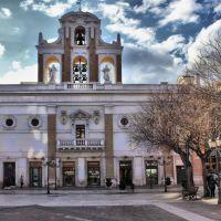"""Taranto _ Chiesa del Carmine _ Costruita nel 1577 con il nome """"Santa Maria della Misericordia"""" la facciata fu restaurata nel 1937., Таранто"""