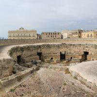 Taranto_dagli spalti del Castello Aragonese_Torrione dellAnnunziata, Таранто