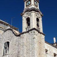 Trani - Campanile chiesa S.Rocco - fu eretta nel corso di una pestilenza, nel 1528*, Трани