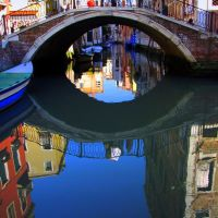 Reflections.. Venice, Italy.. by geotsak, Верона