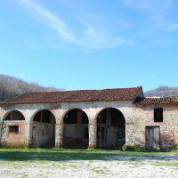 Casa Botesin. La stalla. Castelnovo di Isola Vicentina, VI. Italia, Виченца