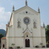 Chiesa parrocchiale di San Vitale. Castelnovo di Isola Vicentina, VI. Italia, Виченца