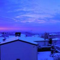 Inverno da Ignago verso Vicenza, Виченца