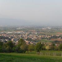 panorama di Castelnovo visto da Ignago, Виченца