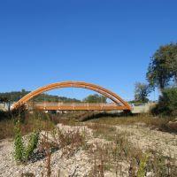 il ponte ciclaile sulla Giara, Виченца