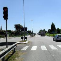 La Superstrada dei Vivai ( da Villatora ) - Padua Highway to Chioggia, Падуя