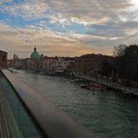 ITA Venezia Ponte della Costituzione ~ Calatrava e Canal Grande (Piazzale Roma) Panorama by KWOT, Венеция