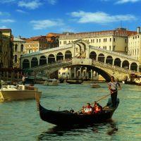 Egy romantikus kép / A romantic image, Венеция