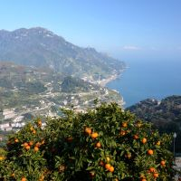 Panorama da Ravello, Costiera Amalfitana, Амалфи