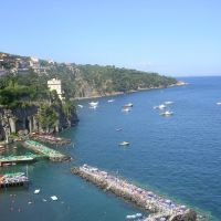 Sorrento, panorama, Сорренто