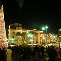 Sorrento: Natale 2007, Piazza Tasso, Сорренто