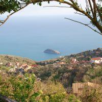 SantAgata sui Due Golfi: veduta di Torca e isola Isca, Сорренто