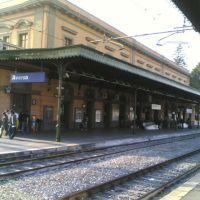 La stazione ferroviaria di Aversa, Аверса