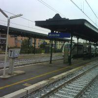 Aversa (CE) Stazione/Railway Station/Bahnhof  Linea Roma - Formia - Napoli/Caserta - Napoli, Аверса