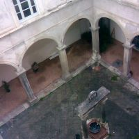 S. Lorenzo ad septimum - chiostrino barocco (2), Аверса