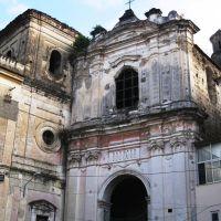 Ingresso Chiesa del Carmine(abbandonata), Аверса