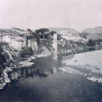 veduta di via posillipo e fiume calore prima del 1943, Беневенто