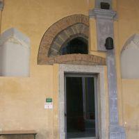 particolare ingresso sala rossa, Беневенто