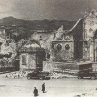 Resti del transetto destro del Duomo settembre 1943, Беневенто