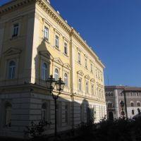 ombre della rocca sul palazzo del governo, Беневенто