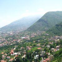 Monte Coppola e Monte Pendolo dalla funivia, Кастелламмаре-ди-Стабия