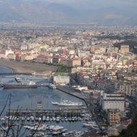 Zona del Porto vista da Madonna della Libera, Кастелламмаре-ди-Стабия