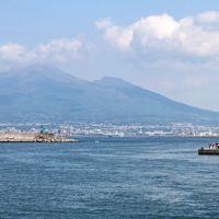 Vesuvio dal porto di Castellamare di Stabia, Кастелламмаре-ди-Стабия