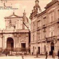 1933 - Piazza Municipio, Кастелламмаре-ди-Стабия