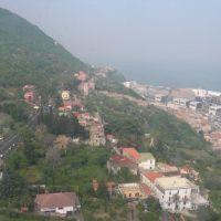 Panorami dalla funivia: il Castello, Кастелламмаре-ди-Стабия