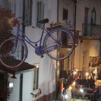 Flying cycle during CanalArt, Ночера-Инфериоре