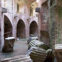 Pozzuoli - La galleria sottoteranea dellAnfitearto di Fravio, Поццуоли