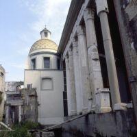 1986 - Rione Terra scorcio del Duomo dedicato a San Procolo con tempio di epoca romana dedicato ad Augusto, Поццуоли
