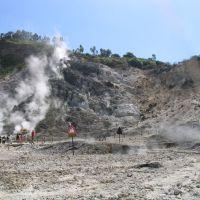 Vulkanische Aktivität bei Neapel - Solfatara, Поццуоли