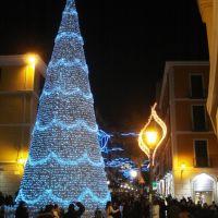 Il corso Vittorio Emanuelle per Natale, Салерно