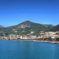 Salerno dal molo, Салерно