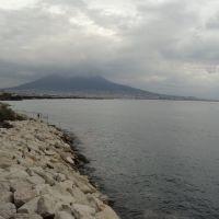 NAPOLI - Nuvole sul  Vesuvio - F. di mia f. Marianna, Торре-Аннунциата