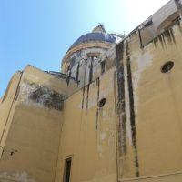 Vista laterale del Santuario dello Spirito Santo, Торре-Аннунциата