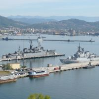 La Spezia - marola - nave ucraina, Ла-Специя