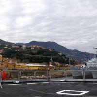 Sventola fiero il nostro Tricolore sul ponte poppiero del Caio Duilio, Ла-Специя