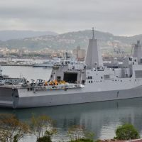 "Marola - USS NEW YORK (LPD 21) ""Never Forget"" al Varicella, Ла-Специя"