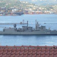 Marola - fregata greca  Aegeon F460, Ла-Специя