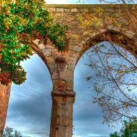Savona, Via Pietro Giuria angolo Via Gerolamo Lavagna. Particolare degli antichi archivolti medioevali, Савона