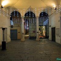 Savona, i portici del vecchio palazzo comunale (attuale pinacoteca), Савона