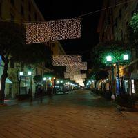 corso Italia Natale 2007, Савона