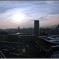 Savona, la città vista dal porto., Савона