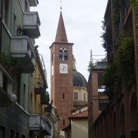Busto  Arsizio (VA) - canpanile e cupola della Basilica di San Giovanni Battista, Бусто-Арсизио